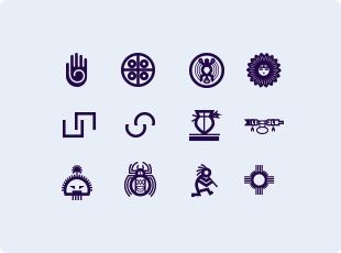 Hopi symbols