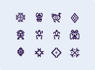 Mapuche symbols - Ancient Symbols