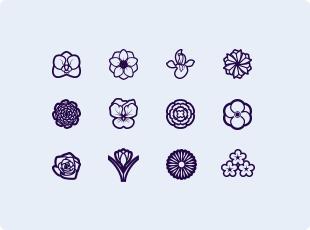 FLOWERS SYMBOLS