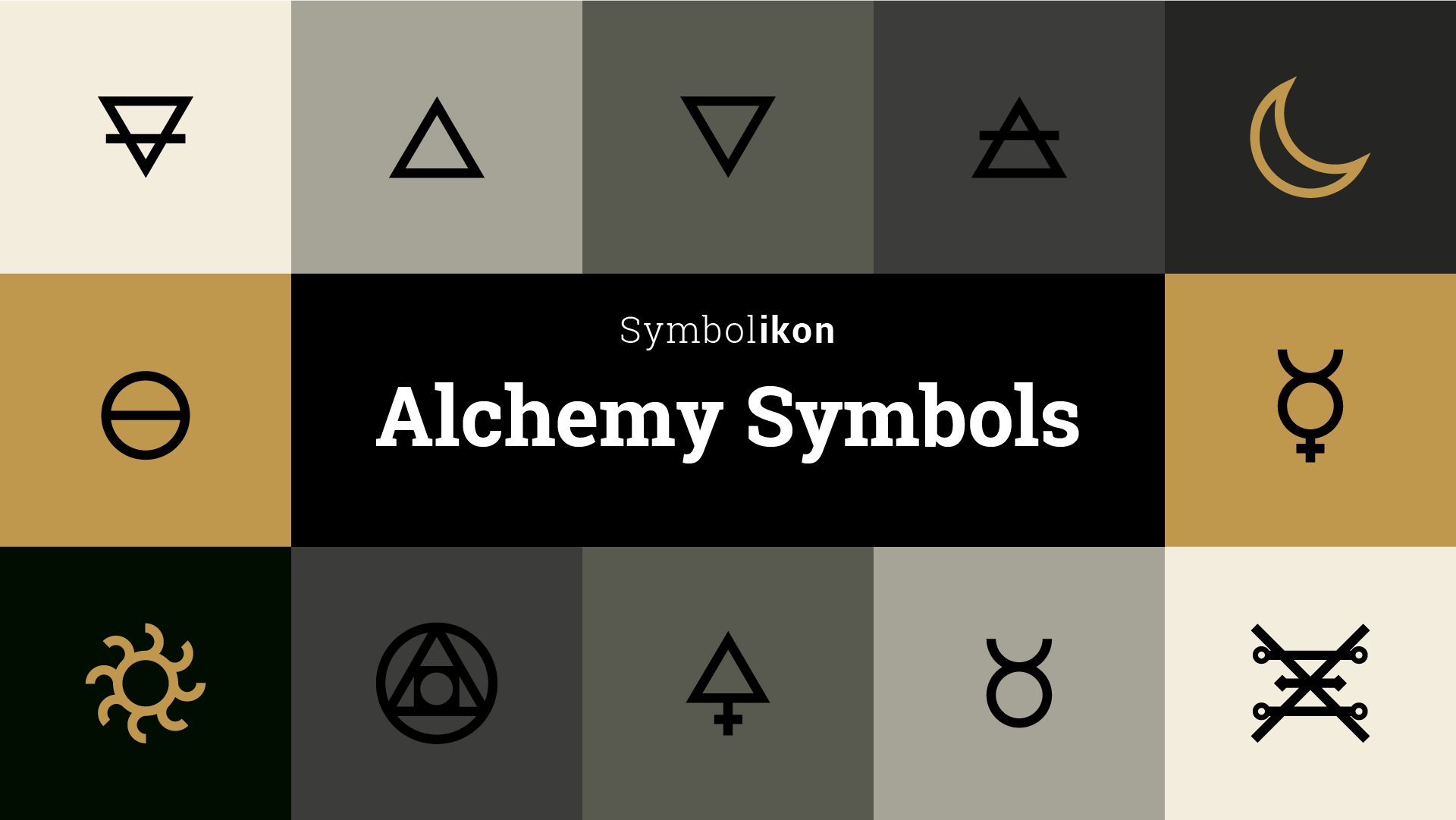 Alchemy symbols meanings