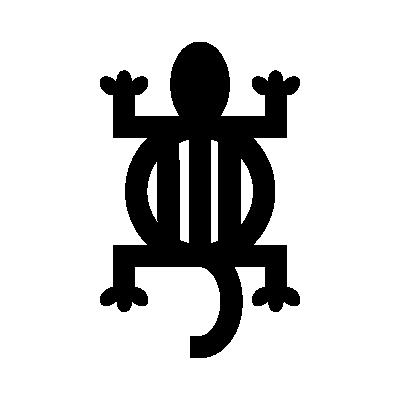 Denkyem Adinkra symbol