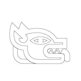 Itzcuintli Aztec symbol