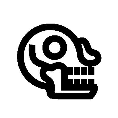 Miquiztli Aztec symbol