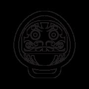 Daruma Buddhism symbol