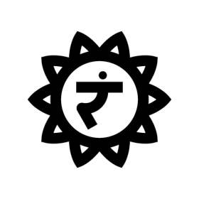 Manipura - Solar plexus chakra symbol