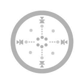 Medicine Wheel Four Huts Lakota Sioux symbol