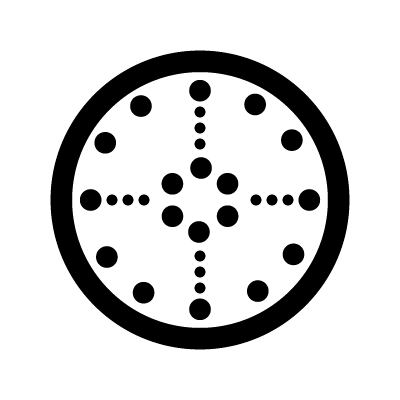 Stone medicine wheel Lakota Sioux symbol