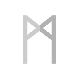 Mannaz Norse Runes symbol
