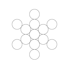 Fruit of Life Sacred Geometry symbol