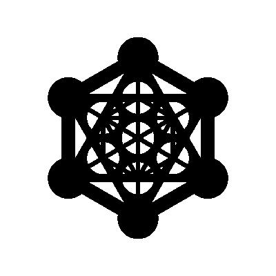 Metatron's Cube Sacred Geometry symbol