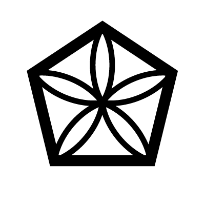 The Moonflower Sacred Geometry symbol