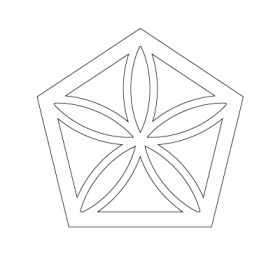 The Moonflower Sacred Geometry symbol