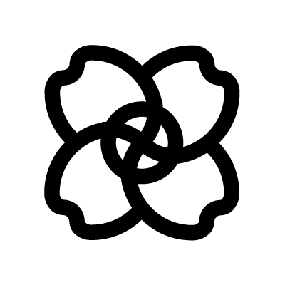 The Syringa Bush Sacred Geometry symbol