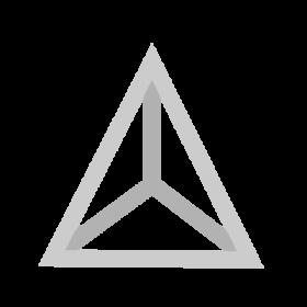 Tetrahedron Sacred Geometry symbol