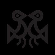 Eternal lovers Taino symbols