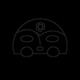 Moon goddess Taino symbol