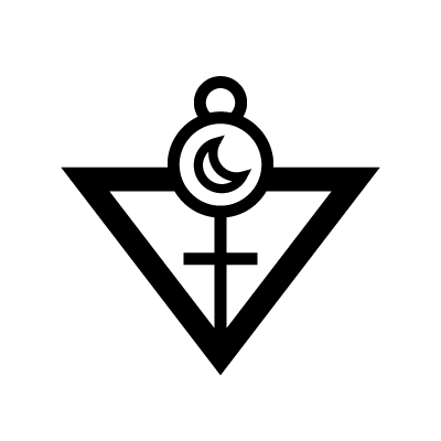 The High Priestess Tarot symbol