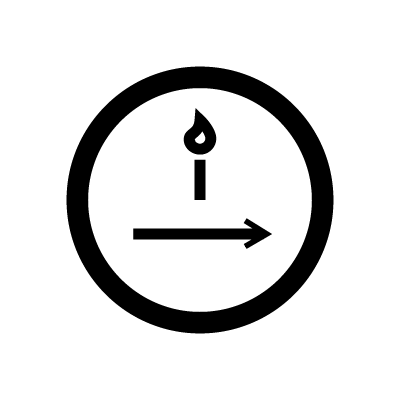 The Hermit Tarot symbol