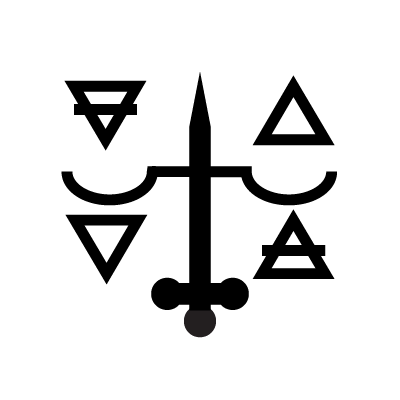 The Justice Tarot symbol