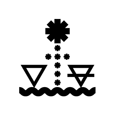 The Star Tarot symbol