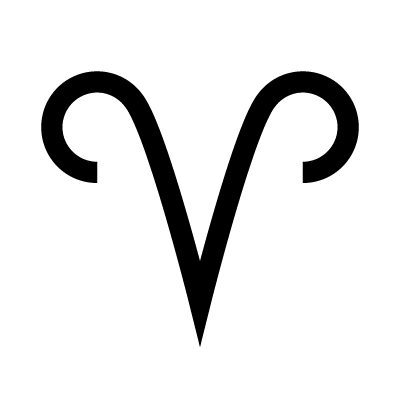 Aries Astrology symbol