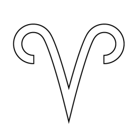 Aries Astrology symbol