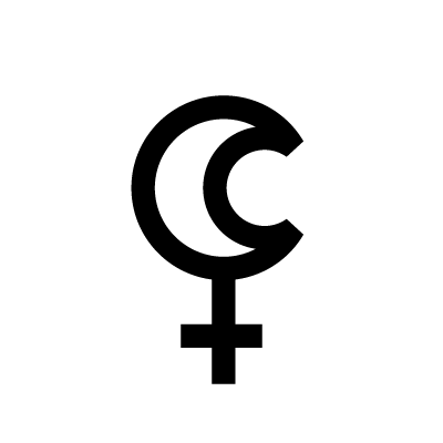 Lilith Astrology symbol
