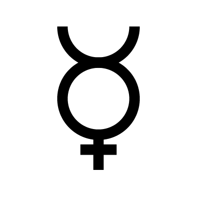 Mercury Astrology symbol