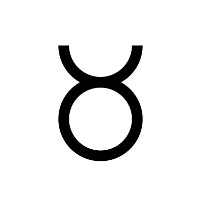 Taurus Astrology symbol