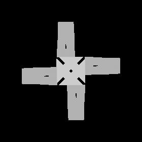 Brigid's Cross Celtic symbol