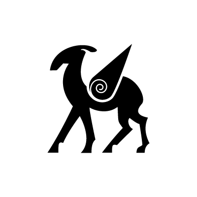 The Stag Celtic symbol