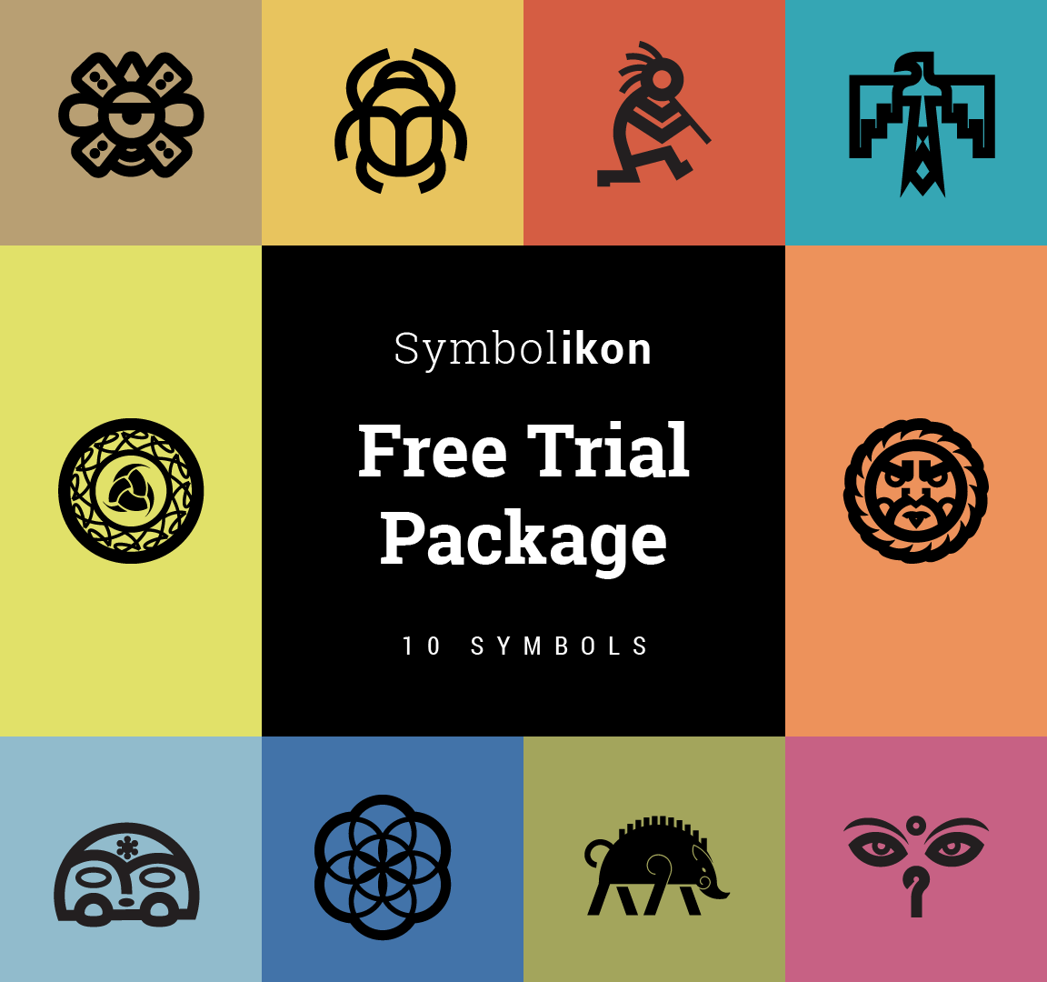 Free package ancient symbols