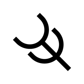 Charity Native Rock Art symbol