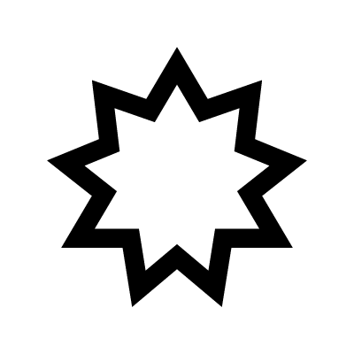 Bahai star Islam symbol