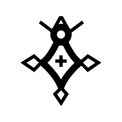 Cross of Agadez Islam Symbol