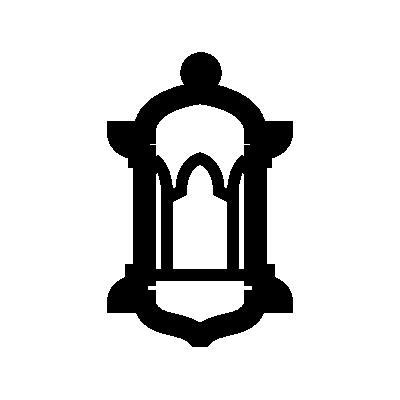 Islamic lantern symbol