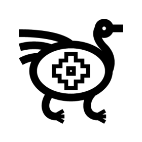 Ñandú Mapuche Symbols