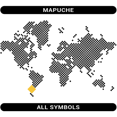 Mapuche - All category symbols Mapuche