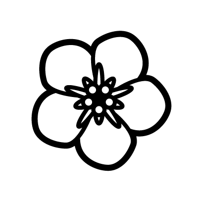 Forget me not Flower Symbol