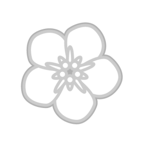 Forget me not Flower Symbol