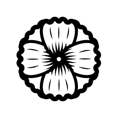 Hollyhock Flower symbol