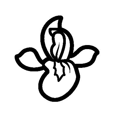 Iris Flower symbol