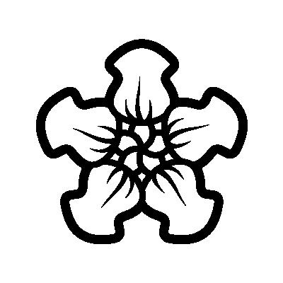 Nasturtium Flower symbol