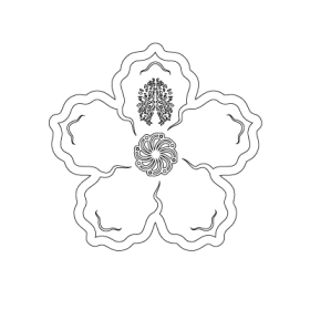 Rhododendron Flower symbol
