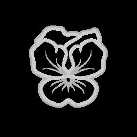 Violet Flower symbol