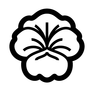 Pansy Flower Symbol