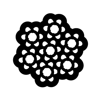 Yarrow Flower Symbol