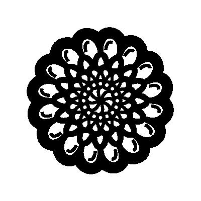 Zinnia Flower Symbol