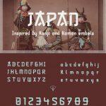 Japan font