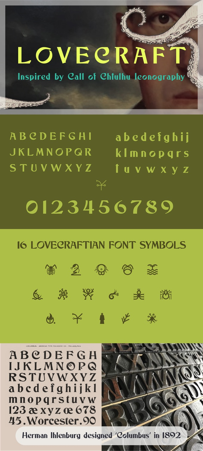 Lovecraft font
